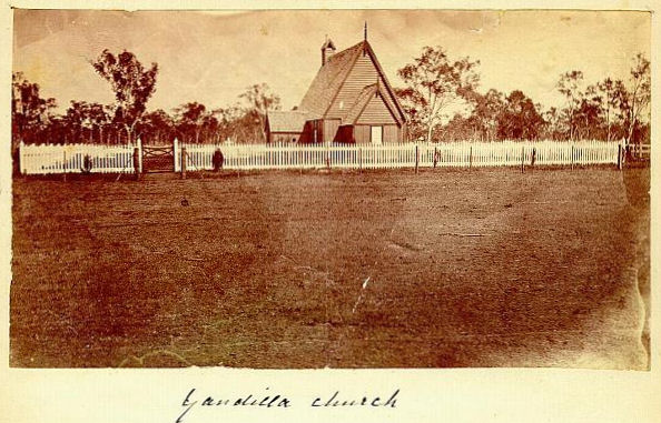 Yandilla Church circa 1878 - 80kB jpg