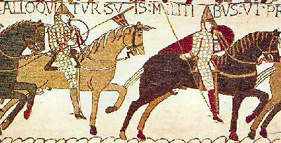 Norman knights from Bayeux Tapestry 44Kb-jpg